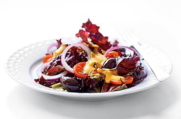Rød salat